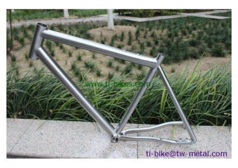 Titanium Mountain Bicycle Frame